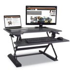 victor-height-adjustable-standing-desk-w-keyboard-tray-31w-gray-vctdcx710