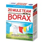 Borax All Natural Laundry Booster Powder, 4 lb. Box, 6 Boxes (DIA00201)