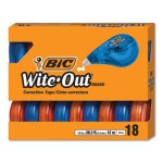 Bic Wite-Out EZ Correct Correction Tape, 18 Tapes (BICWOTAP18)