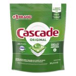 Cascade Original ActionPacs, Fresh Scent, 13.5 oz Bag, 25/Pack (PGC80675PK)