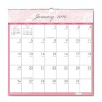 house-of-doolittle-breast-cancer-awareness-monthly-calendar-2020-hod3671