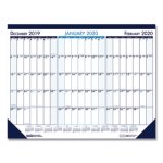 house-of-doolittle-three-month-desk-pad-calendar-22-x-17-2018-2020-hod136