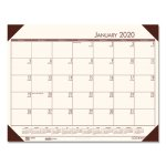 doolittle-ecotones-monthly-desk-pad-calendar-22-x-17-cream-2020-hod12441