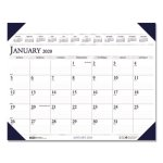 Doolittle Executive Monthly Desk Pad Calendar, 24 x 19, 2020 (HOD180HD)