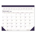 Doolittle Monthly Desk Pad Calendar, 18-1/2 x 13, 2020 (HOD1506)