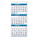 doolittle-three-month-view-wall-calendar-14-month-12-1-4-x-26-2018-hod3640