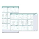 house-of-doolittle-express-track-reversible-erasable-yearly-wall-calendar-24-x-37-2020-hod392