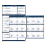 Doolittle Laminated Wipe-Off Yearly Wall Calendar, Earthscapes, 2020 (HOD3961)