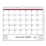 blue-sky-classic-red-wall-calendar-15-x-12-2020-bls111292