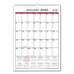 blue-sky-classic-red-wall-calendar-12-x-17-2020-bls117373