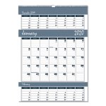 house-of-doolittle-three-months-page-wall-calendar-12-x-17-2018-2020-hod342