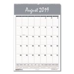 Doolittle Academic Monthly Wall Calendar, Bar Harbor, 2020-2021 (HOD353)