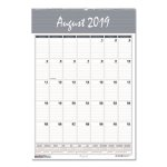 Doolittle Academic Monthly Wall Calendar, Bar Harbor, 2020-2021 (HOD352)