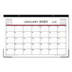 Blue Sky Classic 17 x 11 Red Desk Pad, 2021, Each (BLS111293)