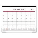 Blue Sky Classic 22 x 17 Red Desk Pad, 2021, Each (BLS111294)