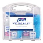 Purell Body Fluid Spill Kit, 2 Single-Use Kits in Clamshell Case (GOJ384101CLMS)