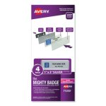 avery-the-mighty-badge-laser-silver-4-holders-32-inserts-ave71200