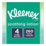 Kleenex Soothing Lotion Facial Tissues, 2-Ply, 260 Tissues  (KCC50174)