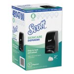 Scott Essential Manual Skin Care Dispenser, 1000 mL, Black, Each (KCC49147)