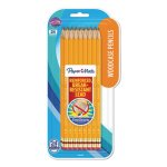Paper Mate EverStrong #2 Pencils, HB #2, Yellow, 24/Pack (PAP2065460)