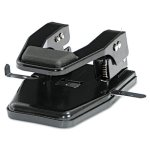 master-40-sheet-hd-two-hole-punch-9-32-holes-padded-handle-black-matmp250