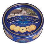 Royal Dansk Cookies, Danish Butter, 12oz Tin Container, Each (OFX53005)