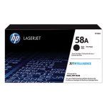 HP 58A, (CF258A) Black Original LaserJet Toner Cartridge (HEWCF258A)