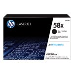 HP 58X, (CF258X) High-Yield Black Original LaserJet Toner Cartridge (HEWCF258X)