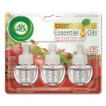 Air Wick Scented Oil Refill, Apple Cinnamon Medley, 18 Refils (RAC83550)