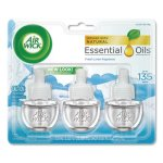 Air Wick Scented Oil Refill, Warming - Fresh Linen, 18 Refils (RAC92858)