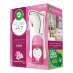 Air Wick Freshmatic Ultra Automatic Pure Starter Kit, 3.33 x 3.53 x 7.76, White, Tropical Flowers (RAC88414KT)
