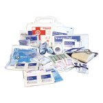 Impact 10-Person First Aid Kit, 62 Pieces, Plastic Case, Each (IMP7317)
