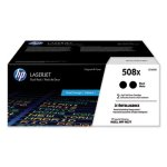 HP 508XC High Yield LaserJet Toner Cartridges, Black, 2 Cartridges (HEWCF360XD)