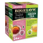 Bigelow Green Tea and English Breakfast Variety Pack, 24/Box (GMT8355)