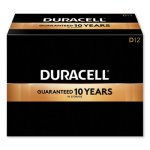 Duracell CopperTop Alkaline D Batteries, 12/Box (DURMN1300)