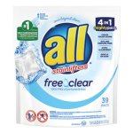All Mighty Pacs Free and Clear Laundry Detergent, 234 Packs (DIA73978)