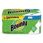 Bounty Select-a-Size Paper Towels, 2-Ply, White, 5.9 x 11, 98 Sheets/Roll, 12 Rolls/Carton (PGC66541)
