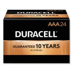 Duracell CopperTop Alkaline AAA Batteries, 24/Box (DURMN2400B24000)