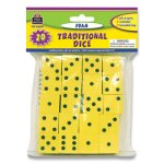 "Teacher Created Resources Traditional Foam Dice, Six Sides, 0.75"" Square, 20/Pack (TCR139497)"