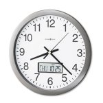 howard-miller-chronicle-wall-clock-with-lcd-inset-14-gray-mil625195