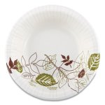 Dixie Pathways Heavyweight 12 oz Paper Bowls, Leaf, 500 Bowls (DXESXB12WS)