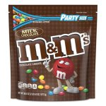 M & M's Milk Chocolate Candies, Milk Chocolate, 38 oz Bag (MNM55114)
