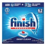 Finish Powerball Dishwasher Tabs, Fresh Scent, 62/Box (RAC20623)