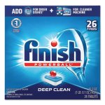 Finish Powerball Dishwasher Tabs, Fresh Scent, 26/Box, 8 Boxes/Carton (RAC20621CT)