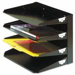 steel-multi-tier-horizontal-letter-organize-4-tier-steel-black-mmf264r4hbk