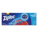 "Ziploc Zipper Freezer Bags, 2.7 mil, 9.6"" x 12.1"", Gallon, 252 Bags (SJN314445)"