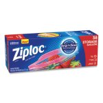 Ziploc Double Zipper Gallon Storage Bags, 1.75 mil, 38 Bags (SJN314470BX)