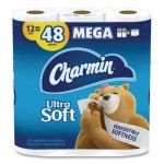 Charmin Ultra Soft 2-Ply Bathroom Tissue, 264 Sheets/Roll, 12 Rolls (PGC79546PK)