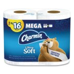 Charmin Ultra Soft 2-Ply Toilet Paper, 264 Sheets/Roll, 24 Rolls (PGC52769)