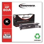 Innovera Remanufactured CF280A (80A) Toner, 2700 Page-Yield, Black (IVRF280A)